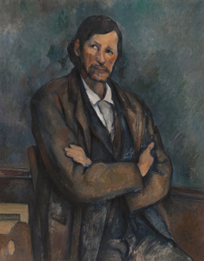 Paul Cezanne's Man with Crossed Arms (1899)